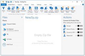 WinZip Pro 25.0 Crack With Keygen+Free Download 2020