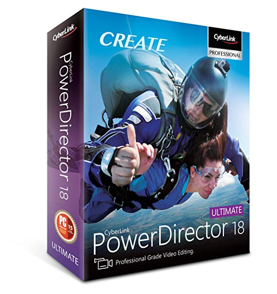 CyberLink PowerDirector 18.0.2204.0 Crack With Keygen